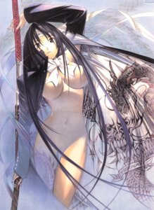 Rating: Questionable Score: 30 Tags: breasts naked_cape natsume_aya oh!_great sword tenjou_tenge User: Radioactive
