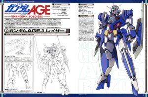 Rating: Safe Score: 5 Tags: ebikawa_kanetake gundam gundam_age mecha User: solidvanz
