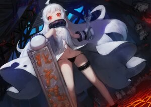 Rating: Questionable Score: 70 Tags: dress garter gods kantai_collection loli no_bra northern_ocean_hime pantsu string_panties torn_clothes User: Mr_GT