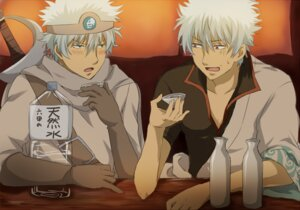 Rating: Safe Score: 5 Tags: gintama male punchiki sakata_gintoki User: tamashii_kun