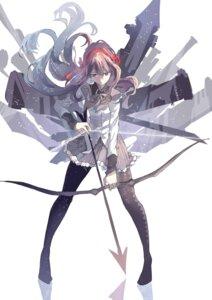 Rating: Safe Score: 37 Tags: akemi_homura asuko pantyhose puella_magi_madoka_magica thighhighs weapon User: Zenex