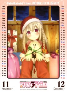 Rating: Safe Score: 27 Tags: calendar christmas fate/kaleid_liner_prisma_illya fate/stay_night illyasviel_von_einzbern User: drop
