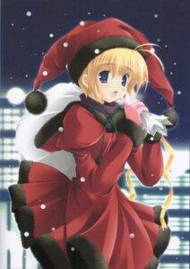 Rating: Safe Score: 12 Tags: christmas ikegami_akane User: syaoran-kun