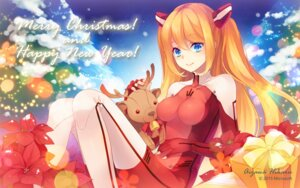 Rating: Safe Score: 36 Tags: aizawa_hikaru bodysuit christmas microsoft shinia wallpaper User: fairyren
