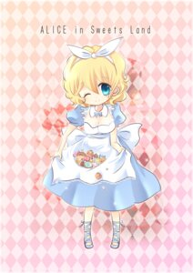 Rating: Safe Score: 8 Tags: ai_aisa alice alice_in_wonderland chibi dress User: charunetra