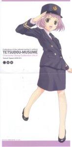 Rating: Safe Score: 5 Tags: crease kitahara_sora tetsudou_musume togawa_tsukushi User: Komori_kiri