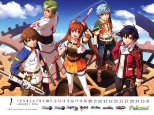 Rating: Safe Score: 4 Tags: calendar eiyuu_densetsu eiyuu_densetsu:_ao_no_kiseki eiyuu_densetsu:_sen_no_kiseki eiyuu_densetsu:_sora_no_kiseki eiyuu_densetsu:_zero_no_kiseki enami_katsumi estelle_bright falcom kevin_graham lloyd_bannings nayuta_herschel nayuta_no_kiseki rean_schwarzer sword weapon User: fireattack