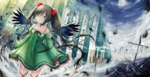 Rating: Safe Score: 15 Tags: blood dress torn_clothes wings yenshin User: KazukiNanako
