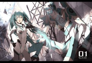 Rating: Safe Score: 48 Tags: bodysuit cosplay hatsune_miku mecha neon_genesis_evangelion nine vocaloid User: zero|fade