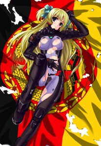 Rating: Questionable Score: 32 Tags: bodysuit erect_nipples liz_hohenstein mizuki_ame muvluv schwarzesmarken torn_clothes User: 椎名深夏