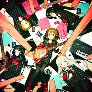Rating: Safe Score: 40 Tags: akiyama_mio asgr guitar headphones hirasawa_yui k-on! kotobuki_tsumugi nakano_azusa pantyhose tainaka_ritsu User: Nekotsúh
