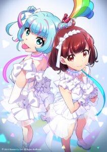 Rating: Safe Score: 32 Tags: heels kasukabe_haru nanasaki_nicole see_through tagme tokyo_7th_sisters User: saemonnokami