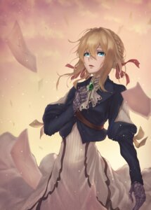 Rating: Safe Score: 9 Tags: dress mecha_musume violet_evergarden violet_evergarden_(character) yasu_(segawahiroyasu) User: Dreista