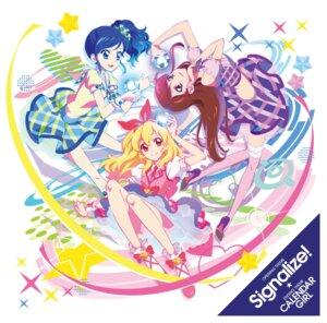 Rating: Safe Score: 15 Tags: aikatsu! disc_cover dress heels hoshimiya_ichigo kiriya_aoi shibuki_ran User: blooregardo