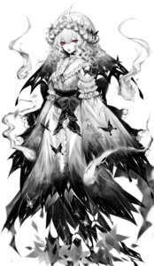 Rating: Safe Score: 27 Tags: dress monochrome saigyouji_yuyuko sheya touhou User: charunetra