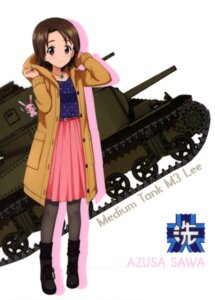 Rating: Safe Score: 7 Tags: girls_und_panzer pantyhose sawa_azusa tagme User: drop