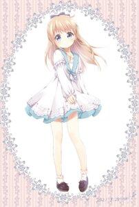 Rating: Safe Score: 21 Tags: dress mearian skirt_lift toshinou_kyouko yuru_yuri User: saemonnokami