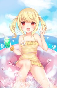 Rating: Safe Score: 76 Tags: amashiro_natsuki swimsuits wet User: Mr_GT