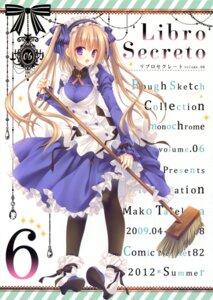 Rating: Safe Score: 42 Tags: maid pantyhose tatekawa_mako wnb User: Twinsenzw