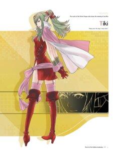 Rating: Questionable Score: 6 Tags: chiki dress fire_emblem fire_emblem_kakusei kozaki_yuusuke nintendo nopan pointy_ears stockings thighhighs User: Radioactive