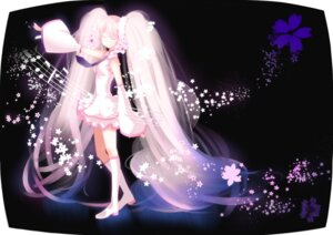 Rating: Safe Score: 30 Tags: hatsune_miku sakura_miku swordsouls vocaloid User: Manabi