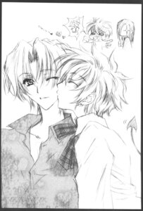 Rating: Safe Score: 7 Tags: carnelian katsuragi_takuto male messiah monochrome User: Riven