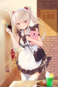 Rating: Safe Score: 43 Tags: maid thighhighs waitress User: Mr_GT