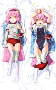 Rating: Questionable Score: 27 Tags: buruma dakimakura gym_uniform komeiji_satori loli okina_sen school_swimsuit swimsuits thighhighs touhou User: oboro