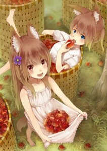 Rating: Safe Score: 33 Tags: animal_ears dress kitsuneko_azarashi tail User: eridani