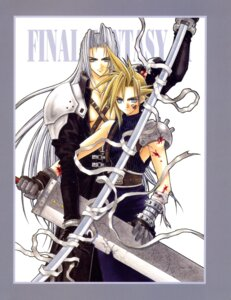 Rating: Safe Score: 2 Tags: adumi_tohru cloud_strife final_fantasy final_fantasy_vii male screening sephiroth User: Riven
