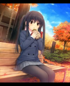 Rating: Safe Score: 32 Tags: coffee-kizoku k-on! nakano_azusa pantyhose seifuku User: blooregardo