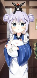 Rating: Safe Score: 60 Tags: gochuumon_wa_usagi_desu_ka? kafuu_chino kurutsu maid tippy_(gochuumon_wa_usagi_desu_ka?) wa_maid waitress User: nphuongsun93