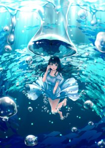 Rating: Safe Score: 41 Tags: dress skirt_lift umbrella yumemizuki User: Mr_GT