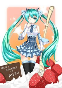 Rating: Safe Score: 32 Tags: fatke hatsune_miku thighhighs vocaloid User: aoie_emesai