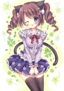 Rating: Safe Score: 33 Tags: animal_ears kouta. nekomimi tail thighhighs User: Mr_GT