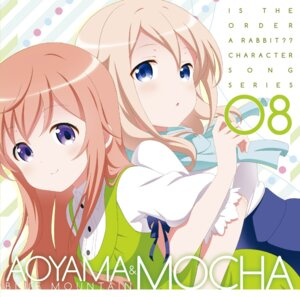 Rating: Safe Score: 36 Tags: aoyama_midori digital_version disc_cover dress gochuumon_wa_usagi_desu_ka? hoto_mocha User: blooregardo