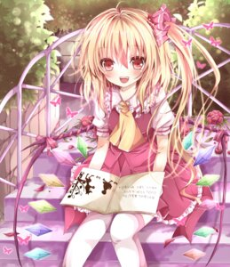 Rating: Safe Score: 39 Tags: flandre_scarlet nanase_nao thighhighs touhou wings User: Nekotsúh