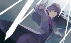 Rating: Safe Score: 16 Tags: aki_mikan dress patchouli_knowledge touhou User: charunetra