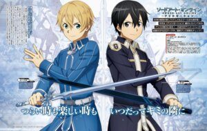 Rating: Safe Score: 12 Tags: deletethistag eugeo kirito sword sword_art_online sword_art_online_alicization User: Saturn_V