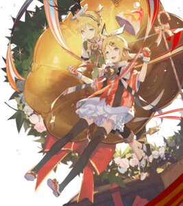 Rating: Safe Score: 13 Tags: christmas kagamine_len kagamine_rin kieed thighhighs vocaloid User: Dreista