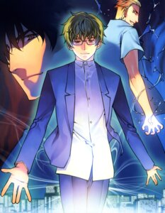 Rating: Safe Score: 4 Tags: kurokami male megane park_sung-woo User: syaoran-kun