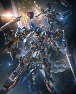 Rating: Safe Score: 55 Tags: crossover gundam gundam_exia mecha tagme User: NotRadioactiveHonest