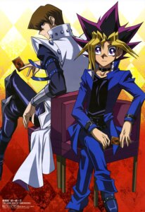 Rating: Safe Score: 15 Tags: kaiba_seto male noh_gil_bo seifuku yugi_moto yugioh User: drop