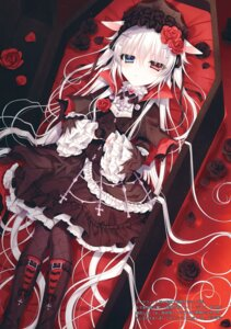 Rating: Safe Score: 35 Tags: animal_ears dress gothic_lolita heterochromia lolita_fashion tsukikage_nemu User: kiyoe