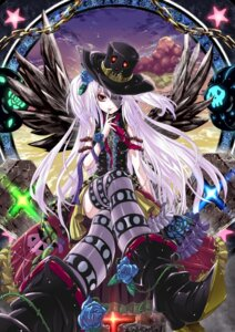 Rating: Safe Score: 16 Tags: kabutoyama thighhighs wings User: Hentar