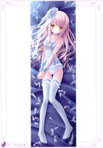 Rating: Questionable Score: 97 Tags: dakimakura lingerie loli pantsu stockings thighhighs tinkle User: crim