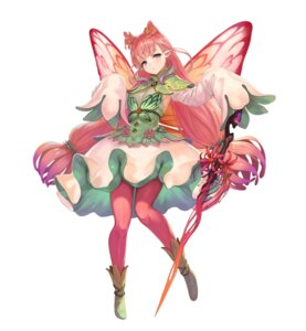 Rating: Questionable Score: 8 Tags: fairy fire_emblem fire_emblem_heroes mirabilis nintendo pantyhose pointy_ears weapon wings yoshiku User: fly24
