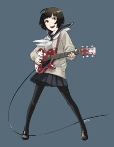 Rating: Safe Score: 19 Tags: guitar kozaki_yuusuke pantyhose seifuku User: cheese