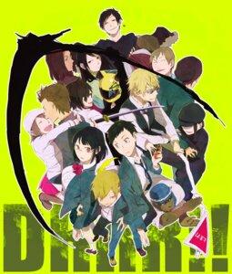 Rating: Safe Score: 7 Tags: celty_sturluson durarara!! harima_mika heiwajima_shizuo kadota_kyouhei karisawa_erika kida_masaomi kishitani_shinra megane orihara_izaya ryuugamine_mikado seifuku simon_brezhnev sonohara_anri sword tanaka_tom togusa_saburou yagiri_namie yagiri_seiji yumasaki_walker User: Radioactive