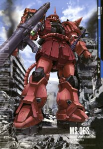 Rating: Safe Score: 10 Tags: gundam mecha mobile_suit_gundam teraoka_iwao User: Aurelia